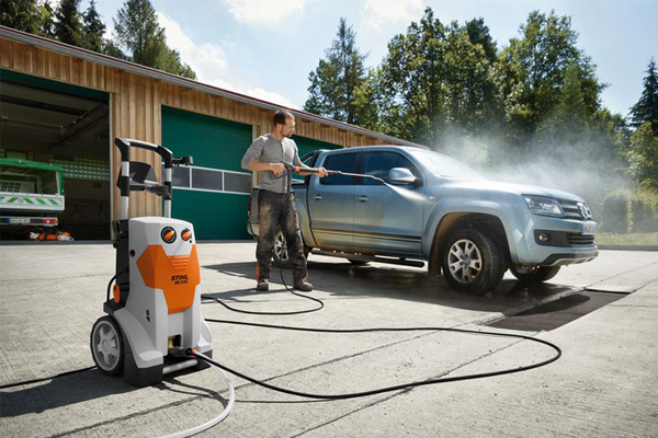 Nettoyage d'un véhicule